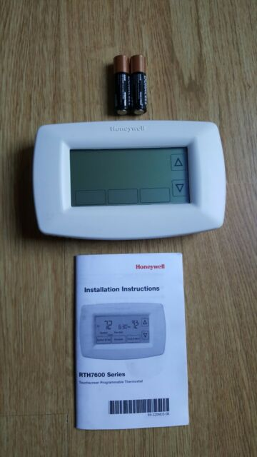 Honeywell Rth7600d 1006 Touchscreen 7