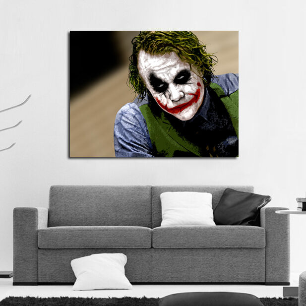 Poster Mural Comic Joker Heath Ledger Batman 40x58 inch
