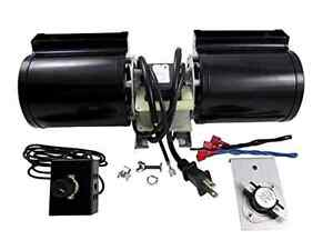 Fireplace Blower Kit Fan Replacement Gas Rotom Universal