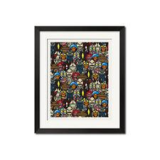 A Bathing Ape Baby Milo x Ultraman Urban Poster Print