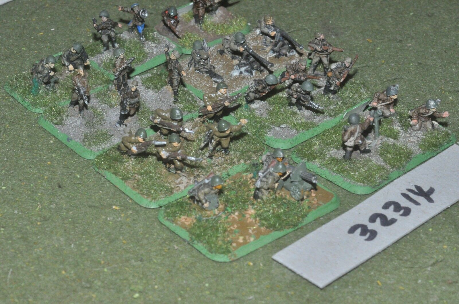 15mm WW2   russian - section 30 figures - inf (32314)