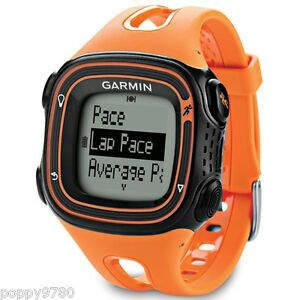 New-Garmin-Forerunner-10-GPS-Sport-Running-Watch-with-Virtual-Pacer-Orange-Black