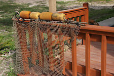 (1) Authentic Used Fishing Net Floats ~ Old Vintage Nautical Marina Decor