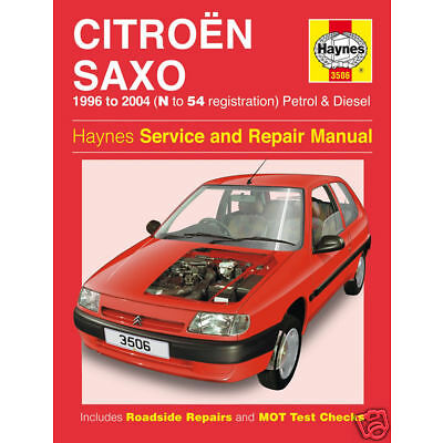 Haynes Citroen Saxo VTR VTS 1996-2004 Manual 3506 NEW | eBay citroen c2 wiring diagram pdf eBay