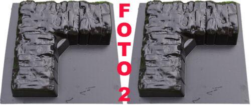Betonformen Ecke Rand Stein Garten Dekor Dich Verkauft 2 Stk ABC Kunststoff BR09