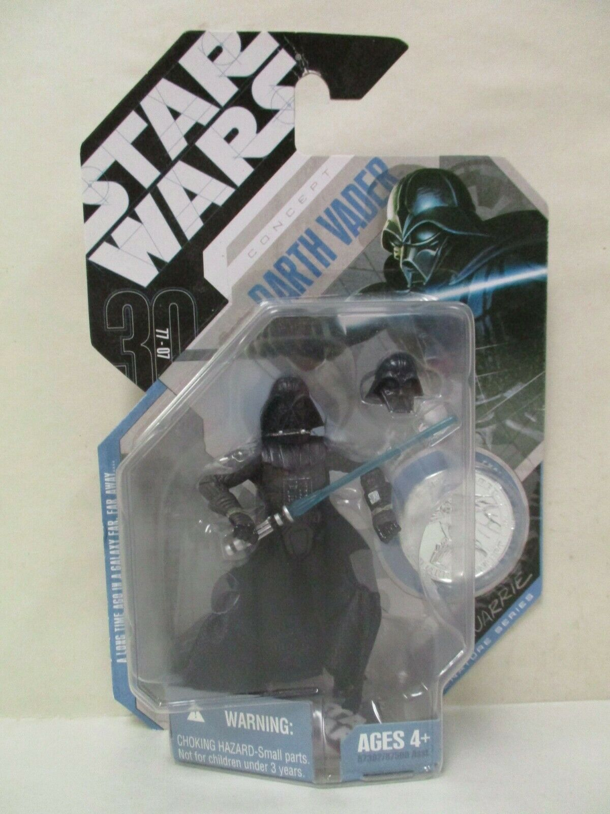 Darth Vader 2007 STAR WARS Saga 30th Anniversary #28 McQuarrie Concept