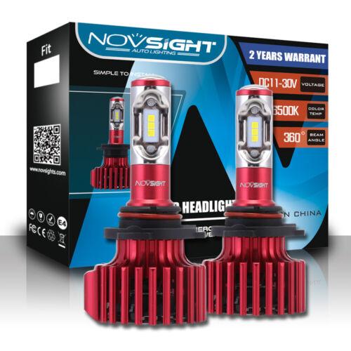 NOVSIGHT  Led 9005//HB3 Car Led Headlights Hi//lo Beam 9005  HB3 60W 10000LM Z3U6