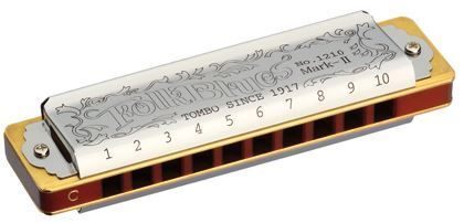 Tombo 1210A Harmonica Folk Blues MKII Key of A