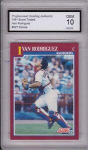 ROOKIE!!! GEM MINT 10 Ivan Rodrigues 1991 Bowman