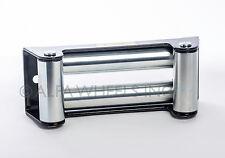 "Heavy Duty Winch Roller Fairlead For Steel Cable- 10"" Bolt Pattern"