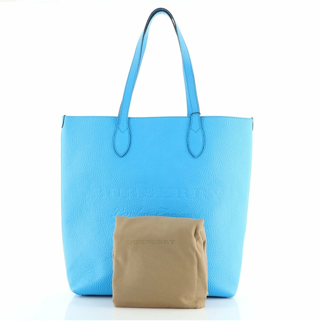Burberry Remington Tote Embossed Leather Tall    eBay