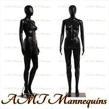 Female Display Mannequin Metal Standarms Turn Black Full Body Manikin Fc 7b