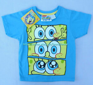 23-OFF-LICENSED-SPONGEBOB-SQUAREPANTS-BABY-BOY-039-S-TEE-4T-3-4-YRS-BNWT-PHP-259