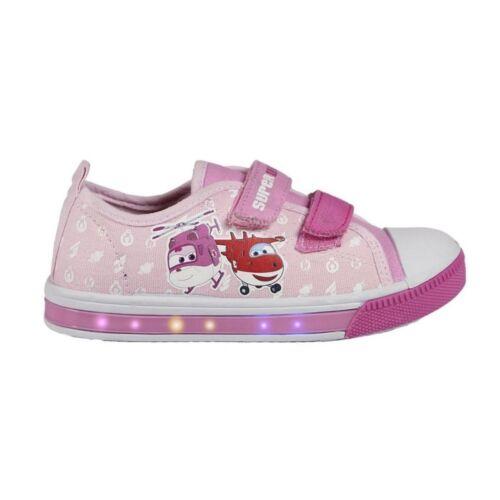 Schuhe Super Wings blinkende Sneaker mit LED Licht Kinderschuhe Mädchenschuhe...