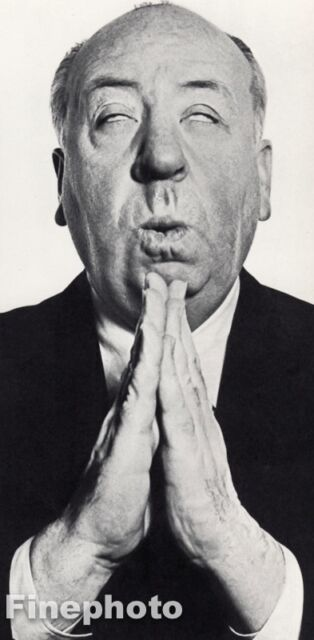 1956 Vintage ALFRED HITCHCOCK Movie Film Director Cinema 8x10 Art RICHARD AVEDON