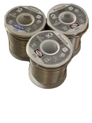 Premium Silver Plumbing Roll Solder 16oz
