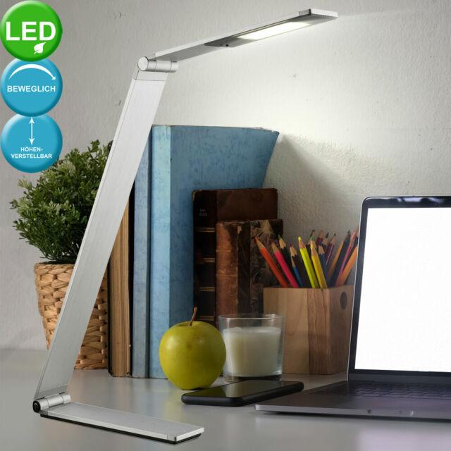 LED Schreib Tisch Lampe Arbeits Zimmer Touch Dimmer Lese Leuchte verstellbar