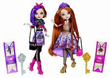 Ever After High Royal and Rebel Sisters Twin Pack - HOLLY & POPPY O' HAIR - BNIB