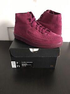 81ee4b3c5d4d45 Nike Air Jordan Retro 2 Decon Bordeaux Maroon Mens 7 100% Authentic ...