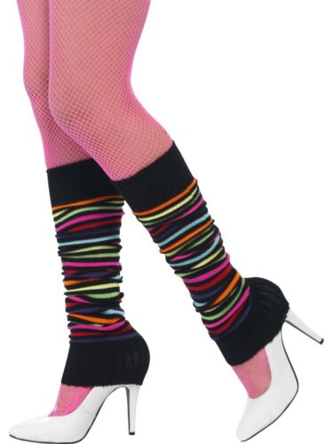 80/'s Legwarmers Disco Womens Ladies Fancy Dress Costume Accessory