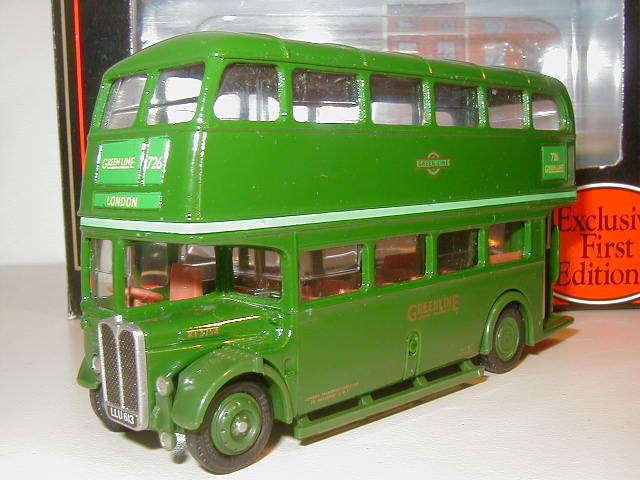 EFE 10117 - 1 76 Aec RT Línea verde-efe Collectors Club 1992 Ruta 726