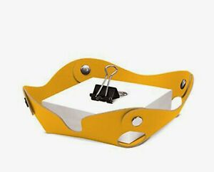 Amazing-Designed-Studio-Recycled-Yellow-Leather-Note-Tray-Argentina-AR2243