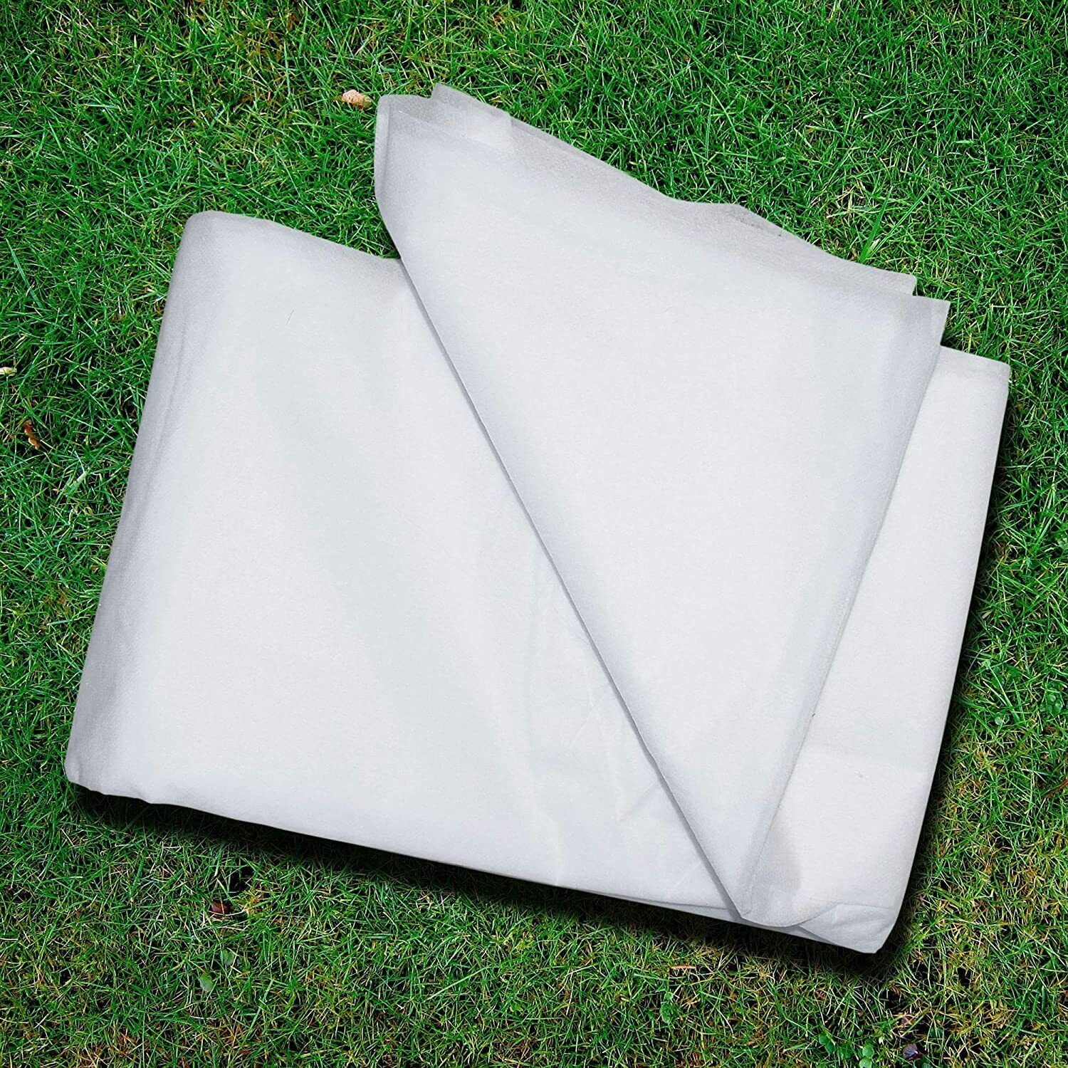 1m x 20m Garden Fleece Frost Protection Wind Cover Cold Plant 18GSM