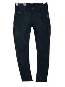 RRP €119 G-STAR RAW LYNN Women Black Stretch Skinny Fit Jeans W31 L32