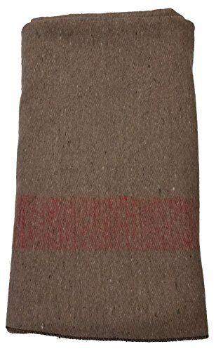 Swiss ARMY estilo militar al aire libre  de lana manta de gran Cámping-tan 64 X 90 in (approx. 228.60 cm)  punto de venta en línea