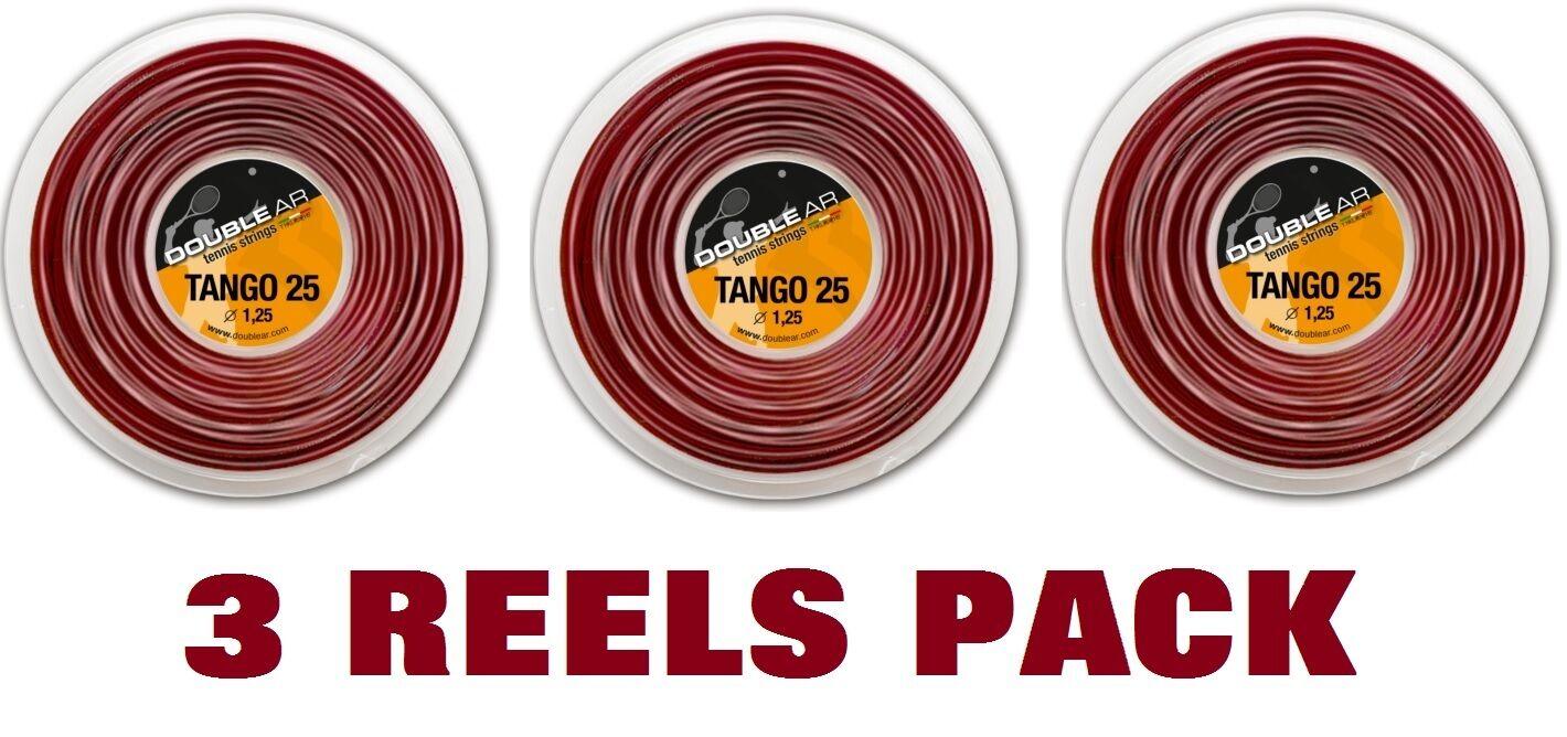 DOUBLE AR TANGO 25 - Corde Tennis 3 X 200mt - Tennis strings 3 X 200mt