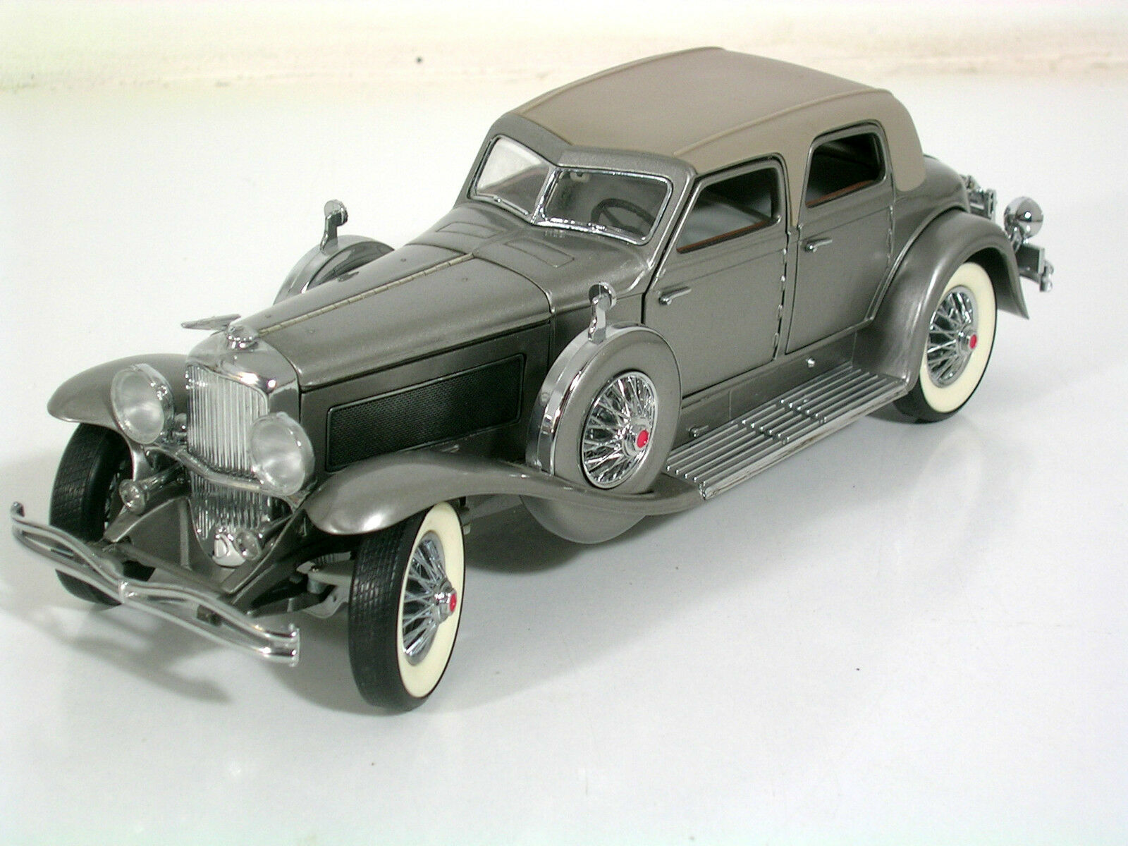 Franklin Mint maqueta de coche 1 24 Duesenberg SJ twenty grand 1933, sin usar, Top