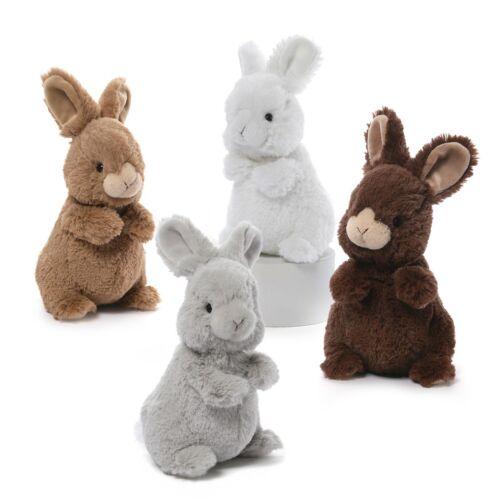 "Lil/' Wispers Bunny Standing 8/"" Gund Gray"