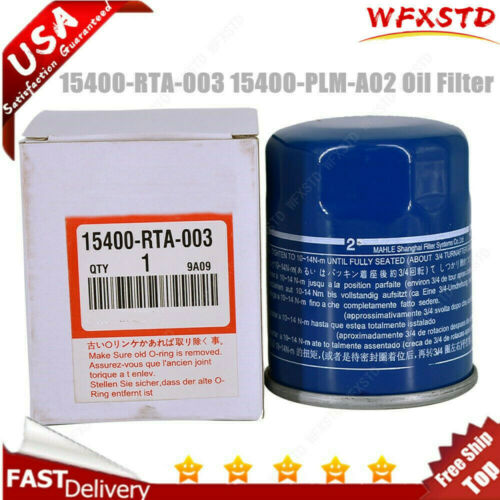 1 X 15400-PLM-A02 15400-RTA-003 OIL FILTER For HD ACURA New US