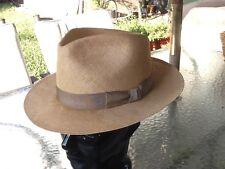 Vintage Dobbs Panama Style Hat 7 - 7 1/8 Fedora