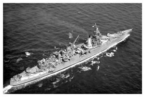 1945 WW II Shark Attack US Navy USS Indianapolis CA-35 Silver Halide Photo