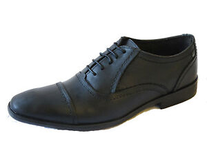 Para Hombre Base London Zapatos De Cuero sabio