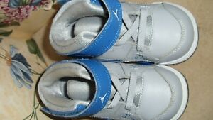 Air Jordan GRAY BLUE sz 5c Toddler