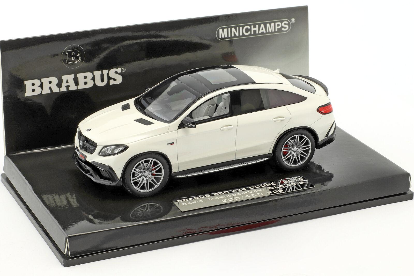 BRABUS 850 4x4 coupé sur base Mercedes-Benz AMG assimilés 63 S année-modèle 2016 Blanc 1:4 | La Boutique En Ligne