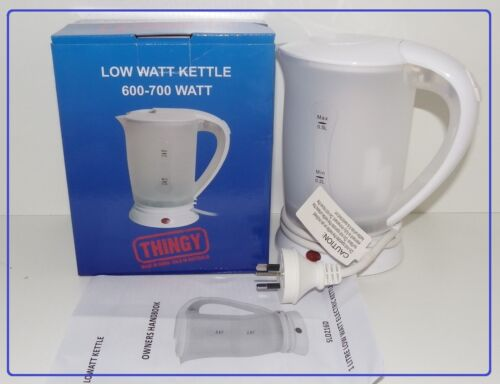 1 of 1 - LOW WATT KETTLE camping caravaning boating generated powered sites offices 600-7