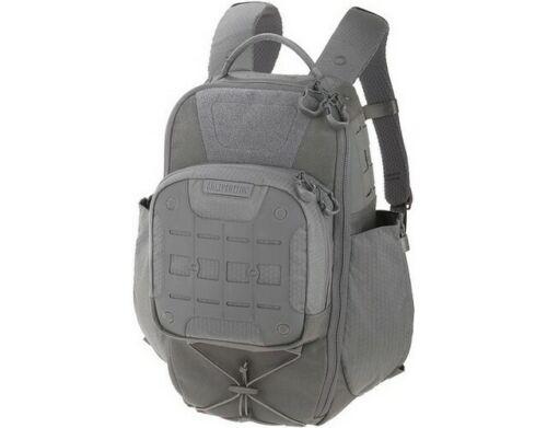 Maxpedition LTHGRY Gray AGR Lithvore Tactical Backpack 2 Bottle Pockets