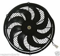 12  Inch High Performance Electric Radiator Cooling Fan Curved Blade