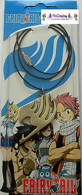 FAIRY TAIL HALSKETTE cosplay necklace kette anhänger natsu dragonil anime