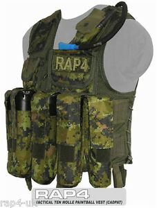 d31bf0709e2 Image is loading Top-Quality-Nylon-Cordura-Tactical-Vest-for-Paintball-