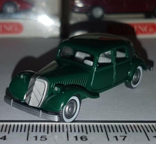 WIKING 822 02 14 CITROEN 15 SIX OLD TIME VOITURE ANTIQUE FRANCE 1:87 HO NEUF OVP