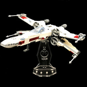 Acryl-Display-Stand-Acrylglas-Standfuss-fuer-Lego-75218-X-Wing-Starfighter