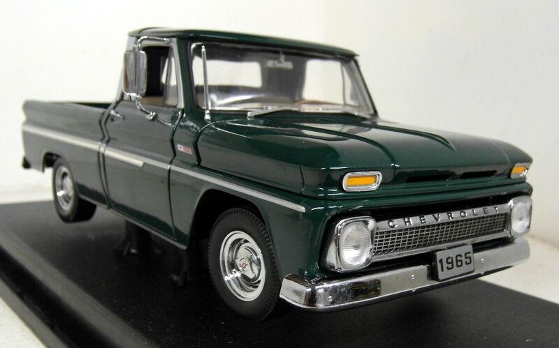 SUNSTA échelle 1/18 1360 65' chevy pickup C-10 STYLESIDE Vert  diecast voiture modèle | L'exportation