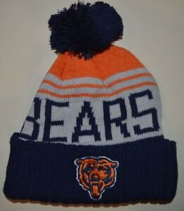 b53ae712f Chicago Bears winter hat one size knit beanie Khalil Mack Mitch ...