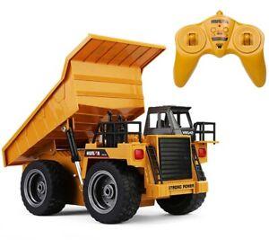 Ferngesteuerter-Muldenkipper-A185-RC-Kipper-Truck-Kipplader-LKW-Fernbedienung