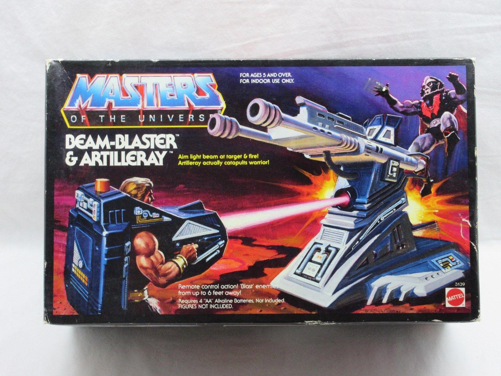 Motu, retro, cañón de haz y cañón, COSMO master, misb, caja sellada.