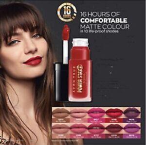 Avon Power Stay, lasts 16 hrs !   Avon lipstick, Avon